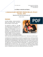 The Italian Memorandum - October Report