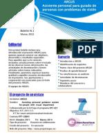 Proyecto ARGUS - Primer Boletín (en español)