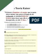 La Teoría Kaizer