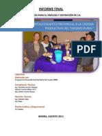 ESTRATEGIAS PRODUCTIVAS PARA EL DESARROLLO DEL TURISMO S