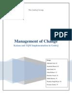 Change management at Godrej