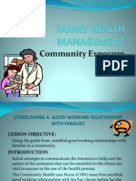 Family Health Management