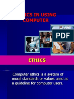 Ethics in Using Computer(Edited)