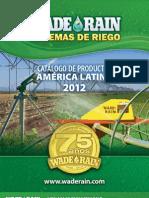 Wade Rain Catalogo de Productos 2012