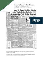 1947 Walla Walla Union-Bulletin Newspaper Article