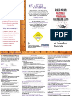 Hazmat Training Brochure