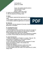 Lesson Plan (Social Studies)