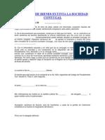 PARTICION DE BIENES EXTINTA LA SOCIEDAD CONYUGAL