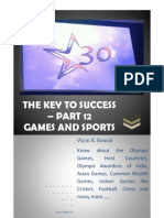 The Key to Success in KBC - Part 12 - Sports and Games