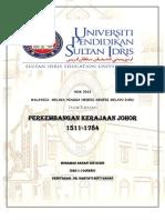 Revolusi Kerajaan Johor-Riau 1512-1784