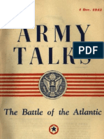 Army Talks 1943 - The Battle of the Atlantic