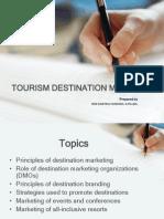 tourism maketingr