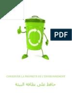 conserver la propreté de l'environnement.docx