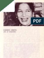 Antonio D. Olano entrevista a Carmen Amaya