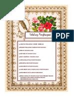 Contoh Buku Program Lawatan Pengarah