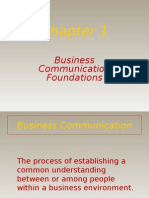 Business Communications Foundations