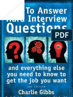 How to answer tough question in an interview