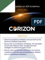 A-1D Diabetes an Update on American Diabetes Association Guidelines