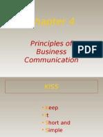 Principals of Business Communication