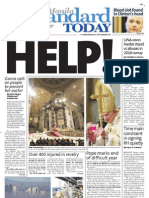 Manila Standard Today -- Wednesday (January 02, 2013) issue