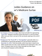 IRS Provides Guidance on Next Year's Medicare Surtax