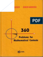360 Problems for Mathematical Contest