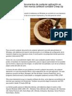DoPDF, convertir documentos de cualquier aplicación en documentos PDF How monica software contable Snuck Up On You.20130101.065702