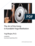 The Art of Gong Meditation