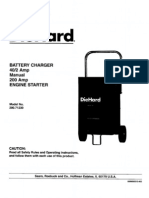 Sears Diehard Battery Charger Owner's Manual - Model 200-71230