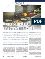 Demand-Controlled Ventilation for Commercial Kitchens