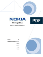 Strategic Business Plan of Nokia This Strategic Report Examines Thoroughly