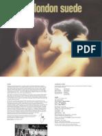 Suede - PDF Booklet