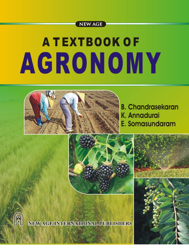 Text book of agronomy herbicide agriculture fandeluxe Gallery