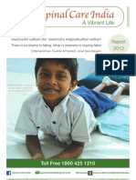 Spinal Care India Report 2012