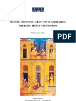Islamic and Ethnic Identities in Azerbaijan (Emerging Trends and Tensions)