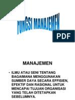 fungsi managemen