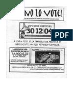 Yo no lo voté nº 9 (2005)