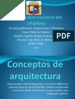 Conceptos de ArquitecturaEXPOCISION XD