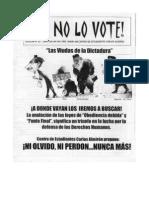 Yo no lo voté nº 10 (2005)
