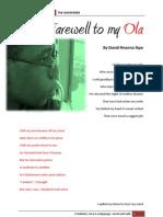 Farewell to My Ola
