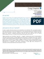 Espiritualidad Craig Hospital