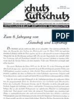 Gasschutz und Luftschutz 6.Jahrgang 1936 / Zeitschrift für das gesamte Gebiet des Gas- und Luftschutzes der Zivilbevölkerung