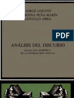 Analisis Del Discurso II