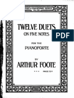 duets 5 notes