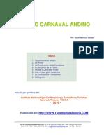festividad del carnaval andino