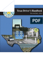 Texas Drivers Handbook - 2013 (PDF file)