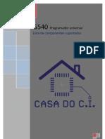 G540 COMPONENTES SUPORTADOS