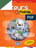 Acteurs Du Monde Secondaire 2