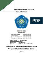 Matan Keyakinan Dan Cita-cita Muhammadiyah Word