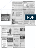 Carnet de Bord - VW Volkswagen Passat B6 3C - Manual de Utilizare